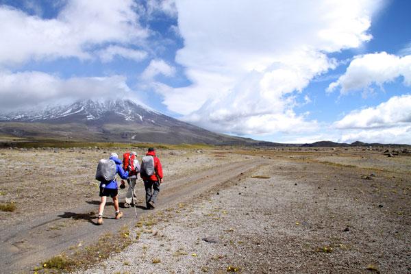 Turismo por la avenida de Los Volcanes en Ecuador