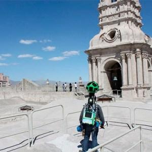Google Street View te muestra sitios emblemáticos de Arequipa