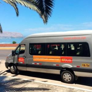 Ebus amplia servicio de transporte al Aeropuerto Jorge Chávez