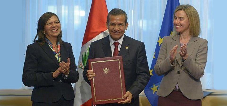 Visa Schengen: Presidente Humala firmó convenio que exonera a peruanos
