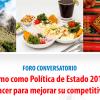 Foro Conversatorio: El Turismo como Polìtica de Estado 2016 – 2021