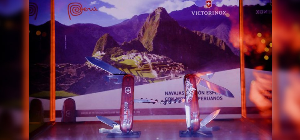 Marca Perú y Victorinox presentan colección de navajas suizas dedicadas al Perú