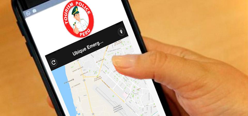 """Turistas podrán alertar casos de emergencia a través de aplicativo gratuito """"Tourism Police Peru"""""""