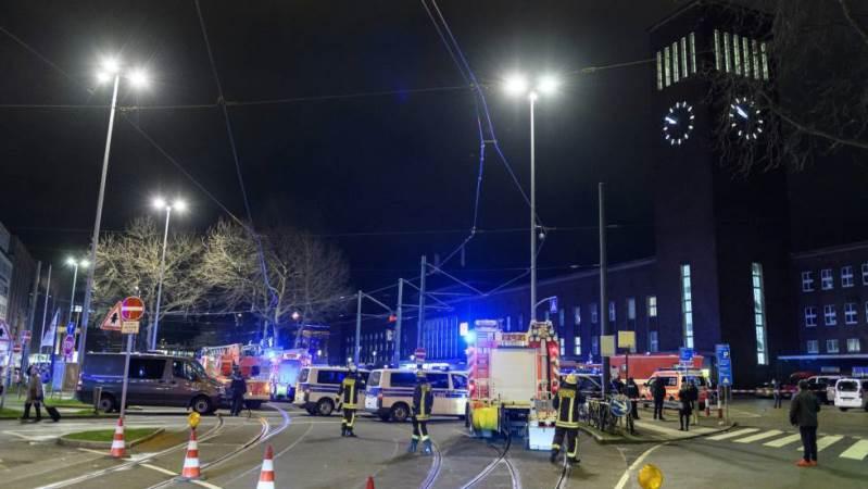 Alemania: Hombre con hacha hirió a siete personas en estación de tren de Dusseldorf