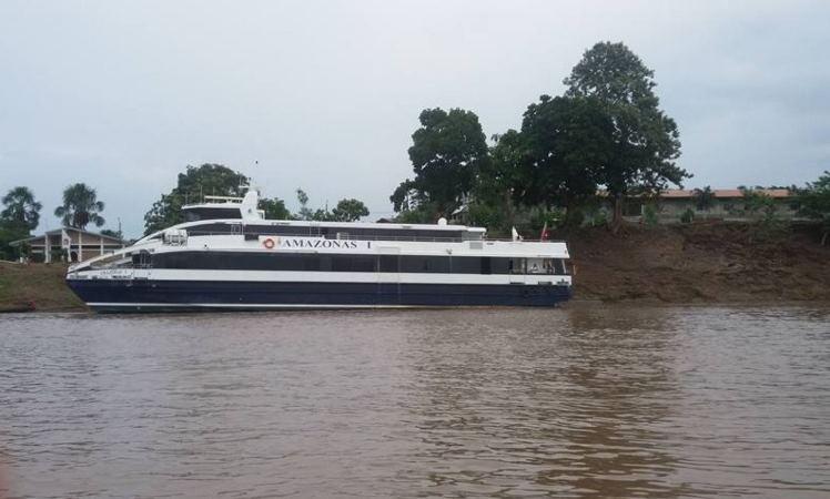 Ferry amazónico operará desde el 13 de marzo en la ruta Iquitos – Santa Rosa