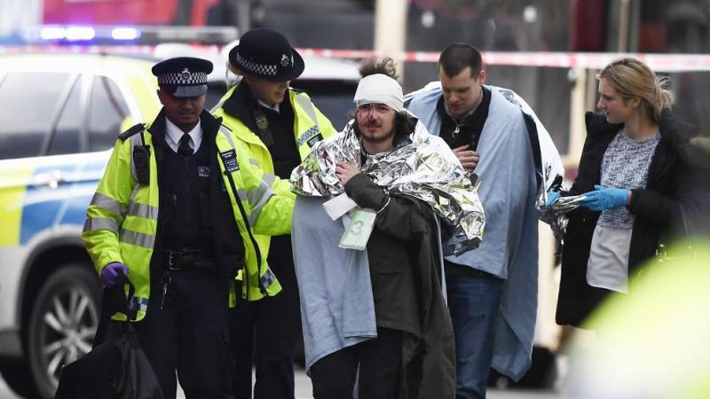 Londres: Cuatro muertos y 20 heridos tras atentado cerca del Parlamento