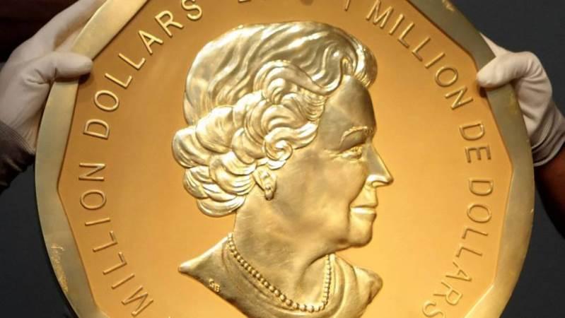 Robaron la moneda más grande del mundo en Alemania: pesa 100 kg y vale US$ 4 millones