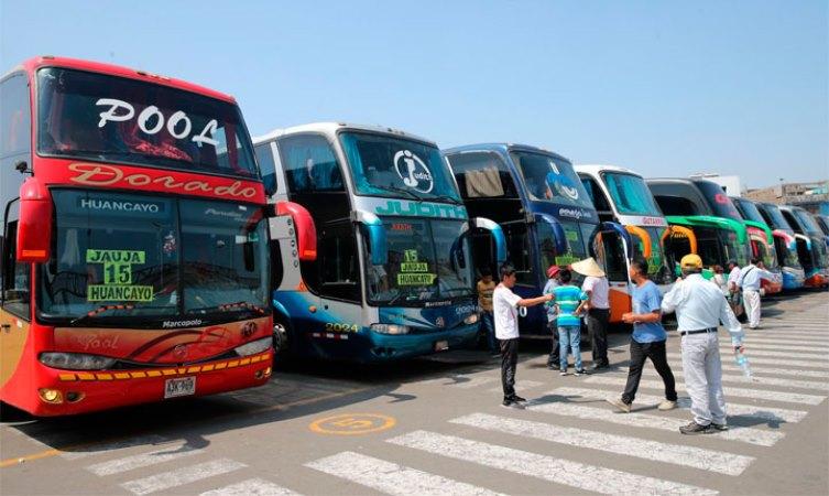 Suben los pasajes de Lima a Huancayo debido a huaicos en Carretera Central