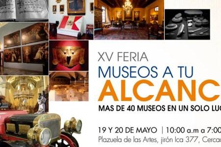 En el mes de los Museos no te pierdas la XV Feria Museos a tu alcance de Lima