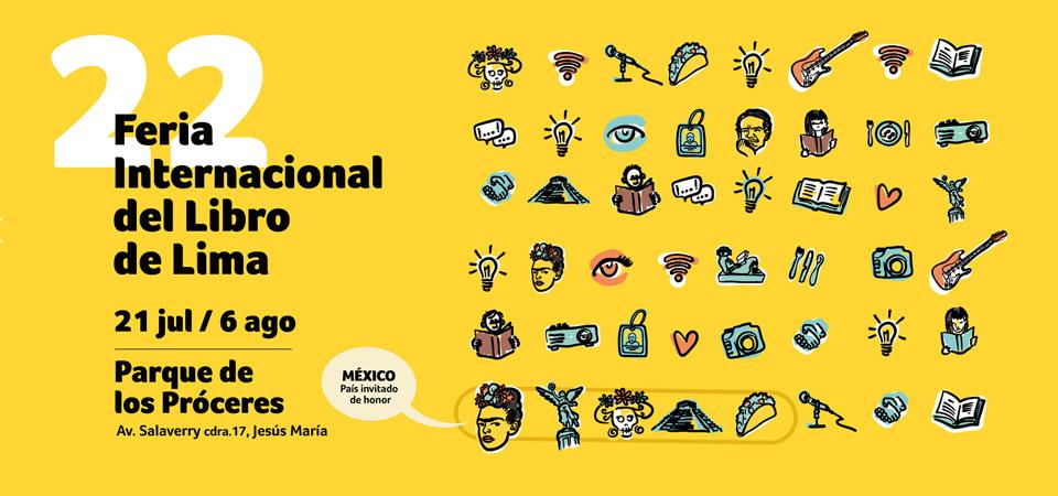 Feria Internacional del Libro de Lima 2017 con amplia delegación mexicana