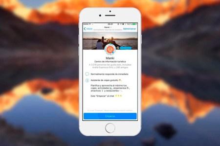 Manki: Tu asistente de viajes inteligente en facebook Messenger