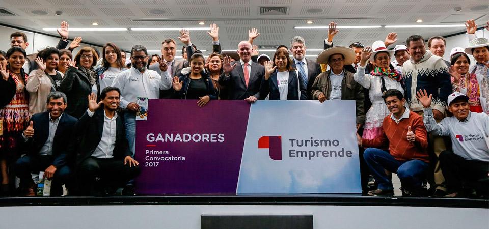 """Mincetur hará realidad 39 nuevos emprendimientos turísticos en el Perú gracias a """"Turismo Emprende"""""""