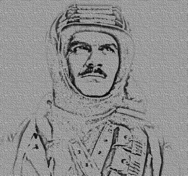 Omar Sharif als Sherif Ali