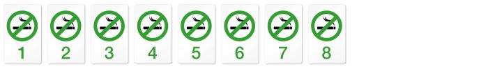 Nichtraucher Acht
