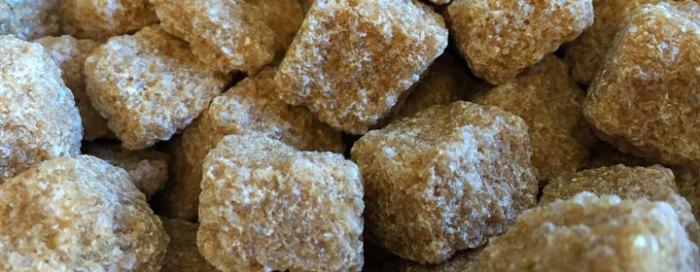 Zuckerwürfel, Rohrzucker
