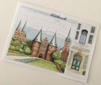 Ansichtskarte Lübeck Holsten-Tor
