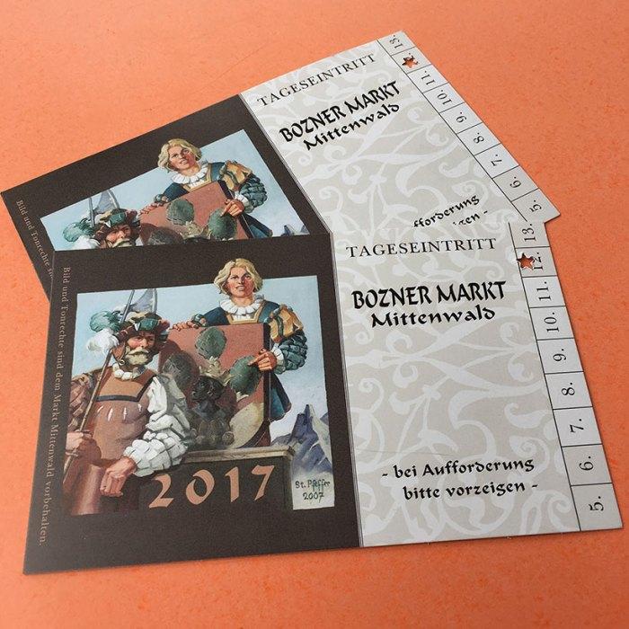 Eintrittskarten Bozener Markt
