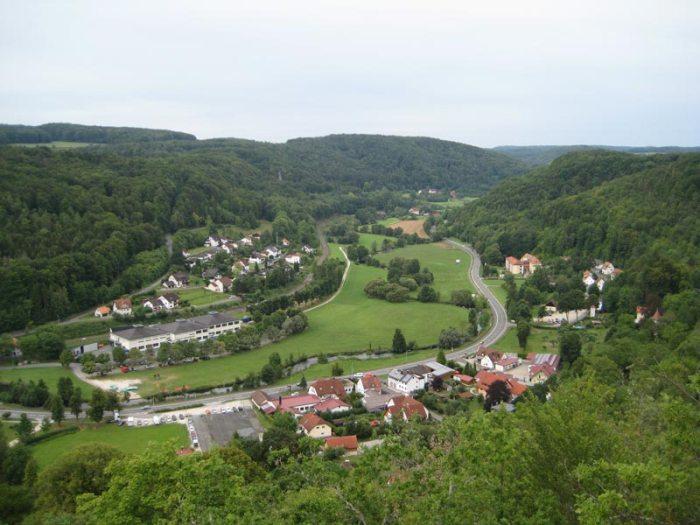 Muggendorf von oben