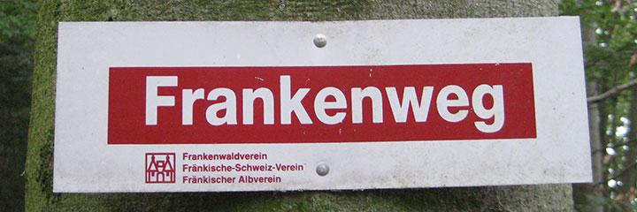 Wandern auf dem Frankenweg 1