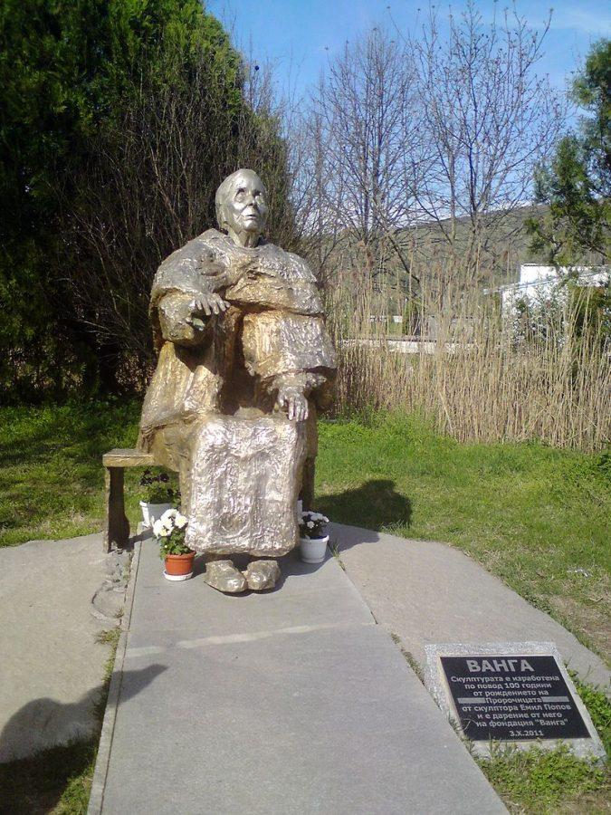Monumento a Baba Vanga a Rupite