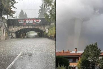 Violenta ondata di maltempo in Italia: allarme in Lombardia, tromba d'aria a Fossoli di Carpi