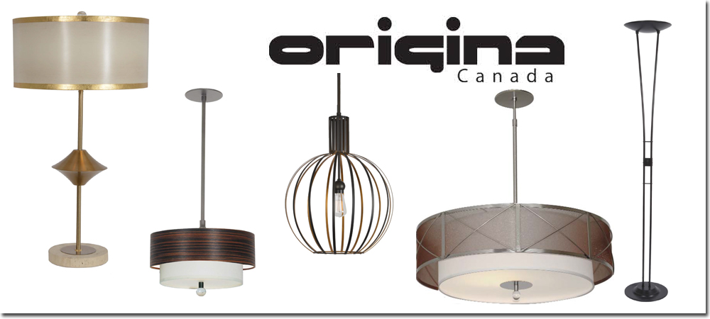 Origina Canada, lighting solutions, Canadian made, interior decor, floor lamps,