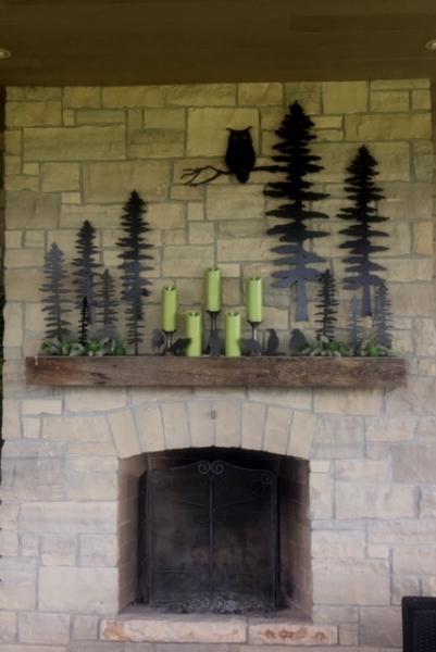 decorative garden accents | metal sculpture