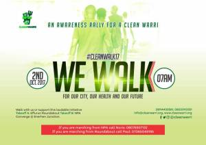 Watch Out For #CLEANWALK17 (Full Detail)