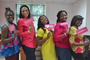 TIGO – AIRTEL STAFF CLIMAX BREAST CANCER MONTH WITH LUNCH AND FUNDRAISING ACTIVITIES