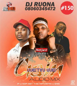 Dj Ruona – Wetin We Gain Ft Victor Ad, Davido,Wizkid,Erigga,Mr Real & Shuun Bebe