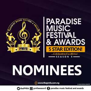 Nominees For The Paradise Music Festival & Awards 2018 #PMFASeason5