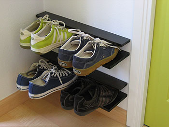 shoe storage DIY