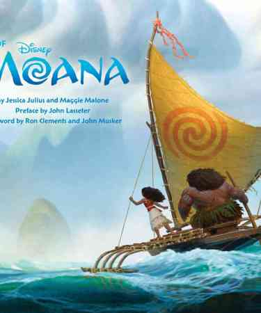 comprar the art of moana artbook