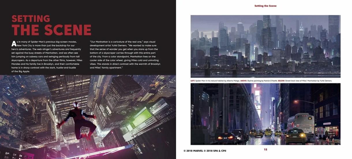 spiderverse artbook
