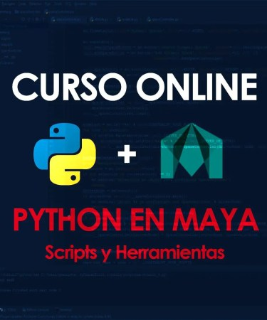 curso online de python para maya programación scripts