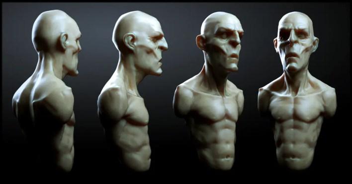 Workshop de Escultura Digital Las criaturas de Damien Canderle