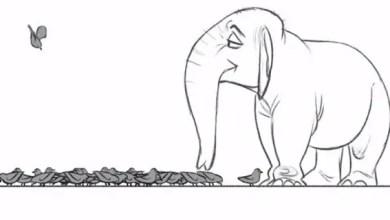 Photo of Cortometraje de Animación Dibujada a Mano: Cyrano The Elephant in Trunk Troubles