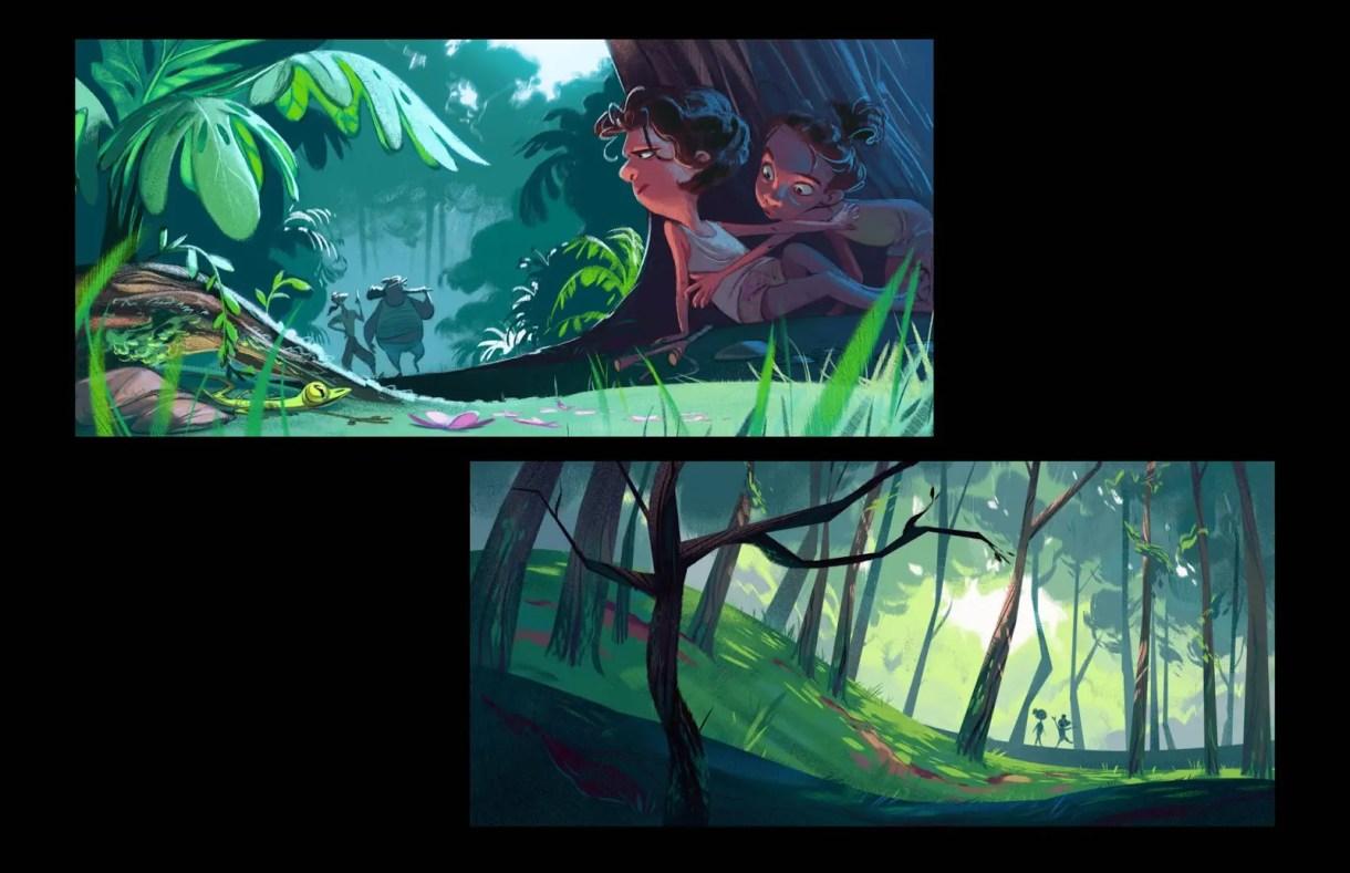 Cécile Carre- Ilustración-Dibujo-arte-Diseño de personajes-animación