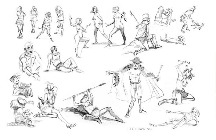 Showreel, Tutoriales y Portfolio de Cécile Carre: Ilustración y Diseño de Personajes