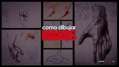 como dibujar manos - realistas y cartoon - tutoriales con metodos sencillos paso a paso en español
