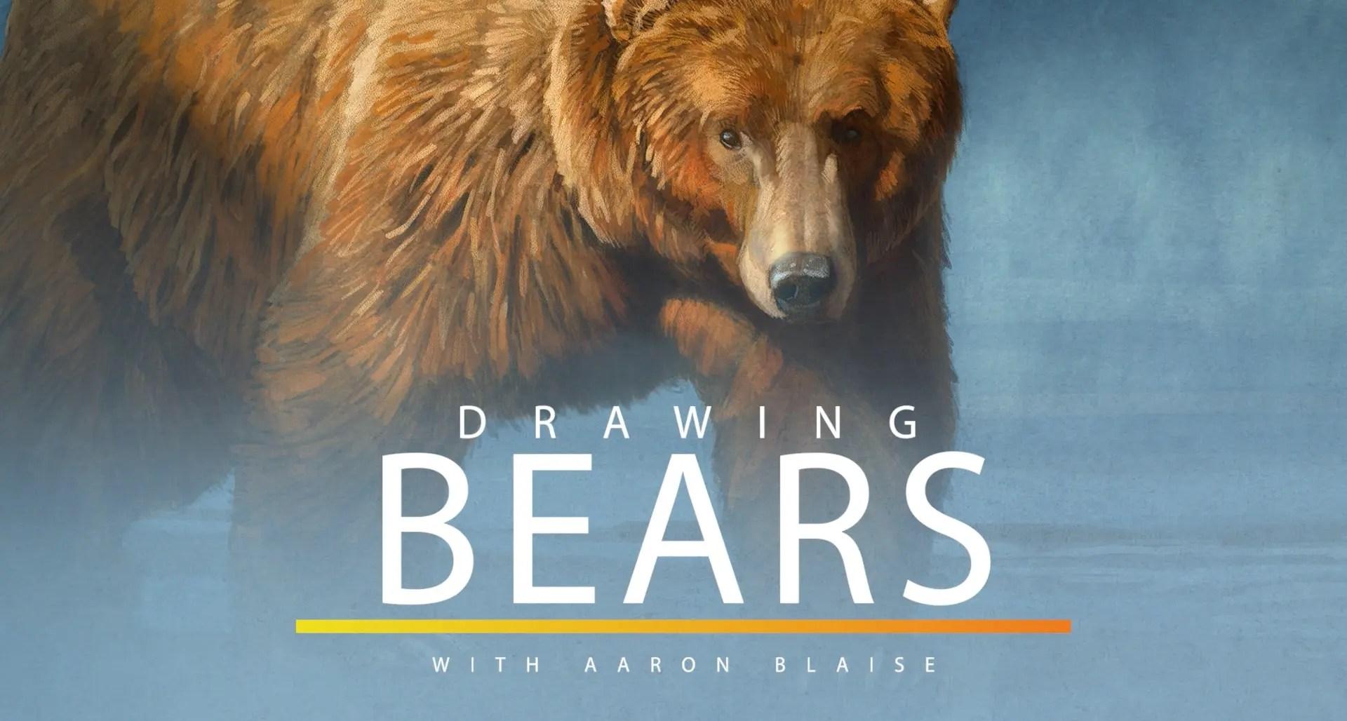 Tutoriales Diseño de Personajes | Como dibujar osos – Aaron Blaise