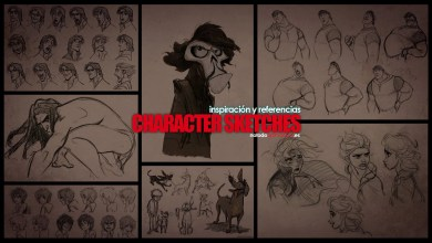 Photo of Inspiración y Referencias – Character Sketches | Diseño de Personajes ⭐⭐⭐⭐⭐
