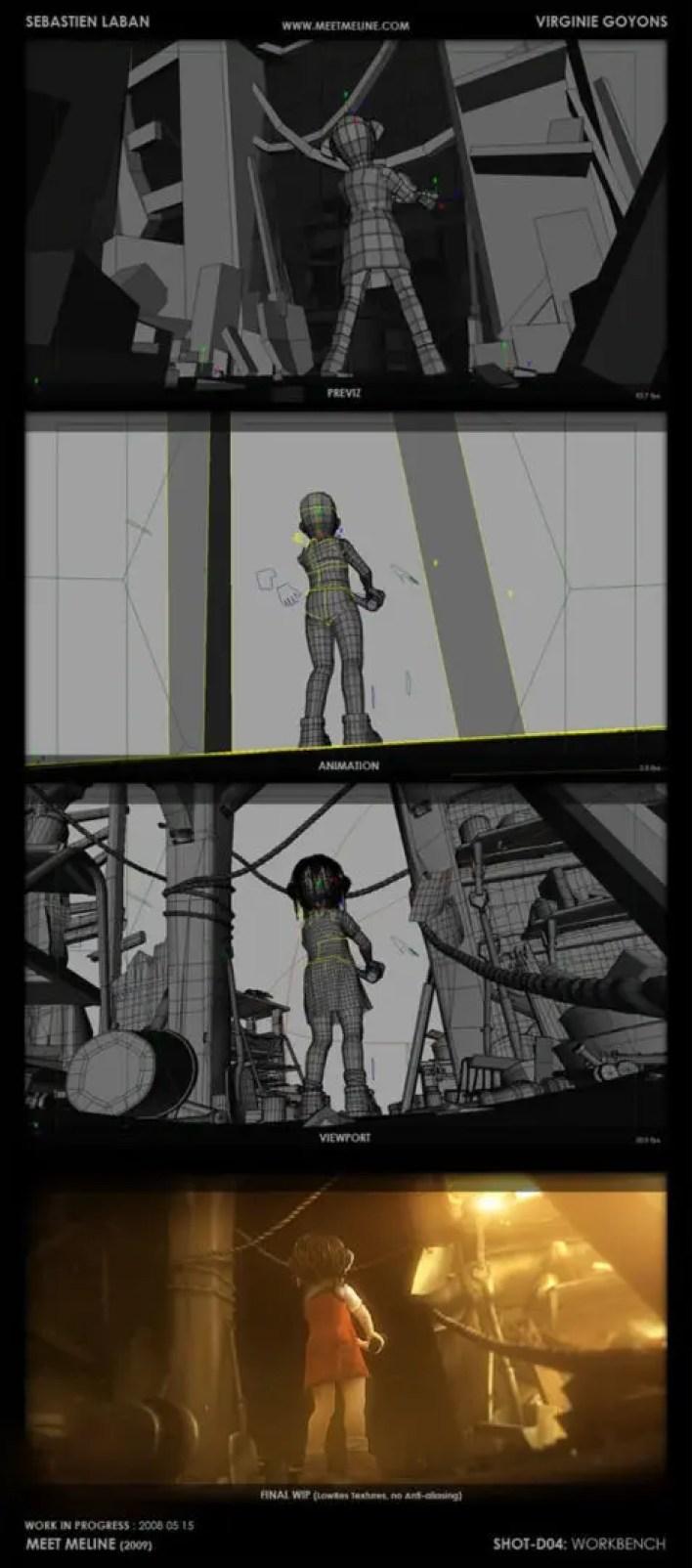 Cortometraje de Animación & Making of Meet Meline
