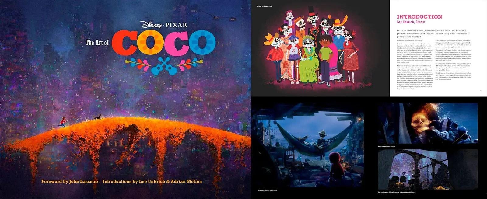 artbook disney coco | the art of coco