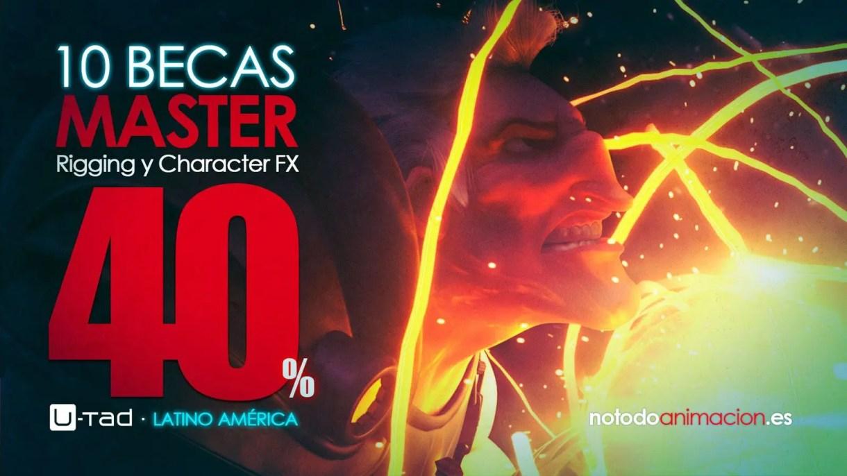 CONCURSO 10 BECAS - Master en Rigging y Character FX