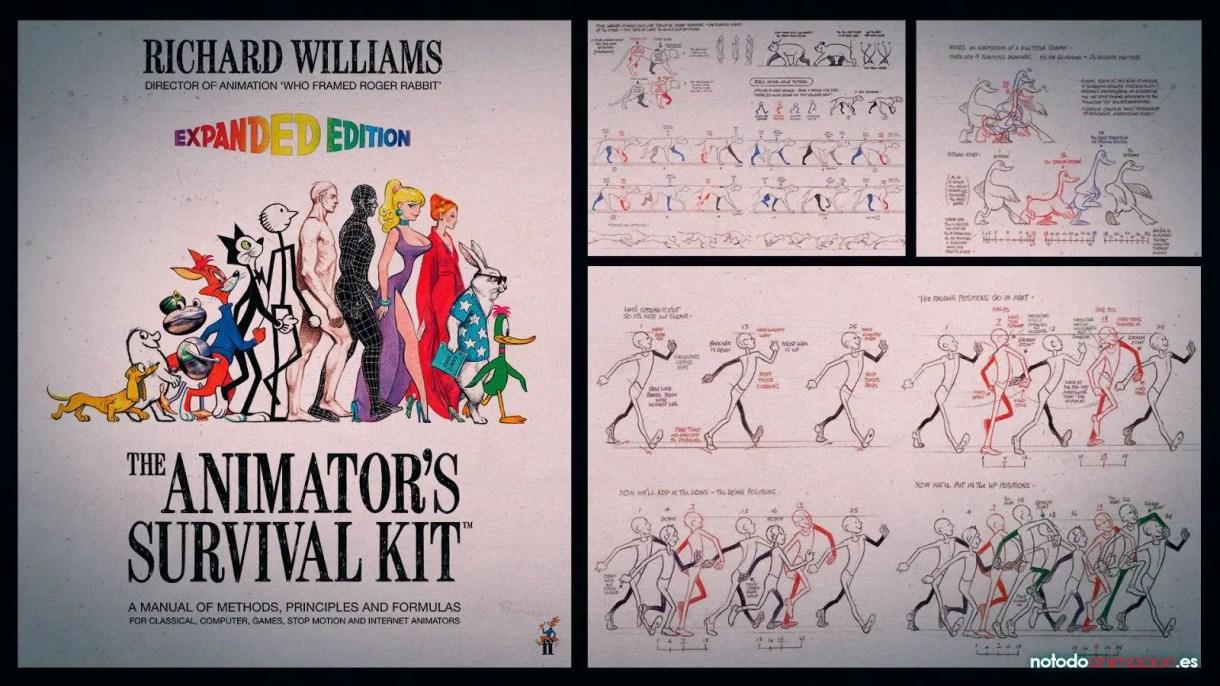 Los 5 mejores Libros para aprender Animación - Animator Survival Kit