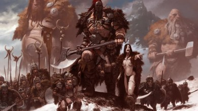 Adrian Smith-Ilustrador y concept art