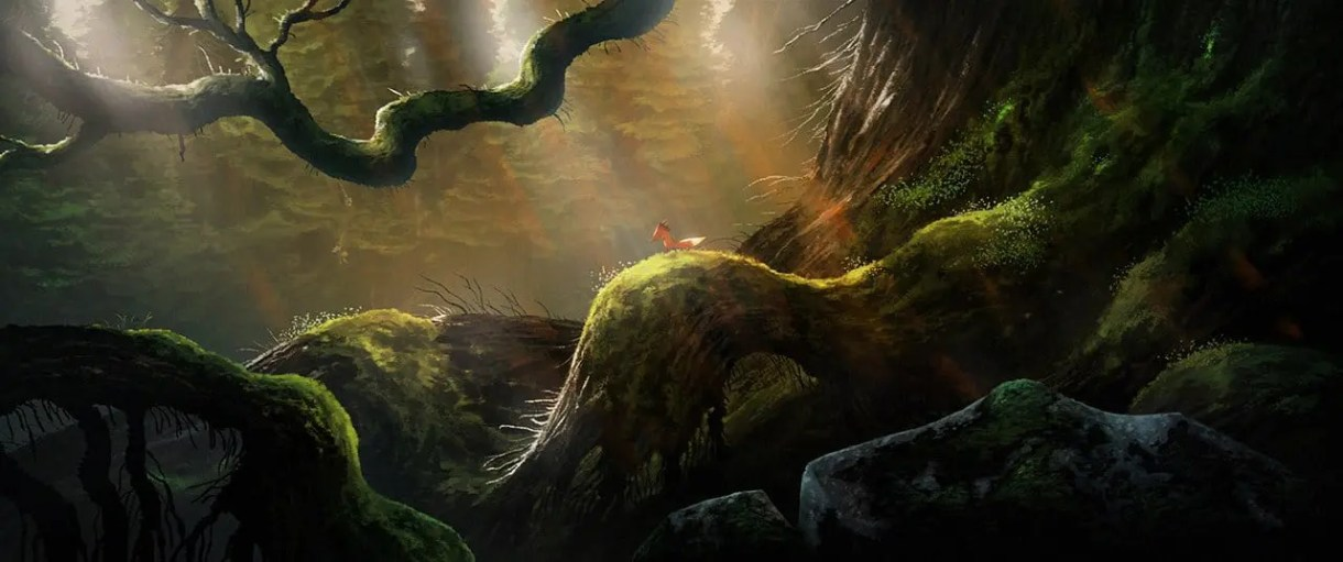 Cortometraje de animación-2d-3d-Fox and the Whale