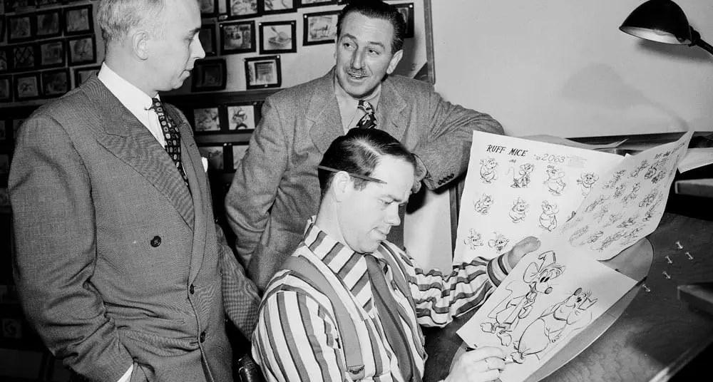 Los 12 principios de la animación con ejemplos - disney nine old men