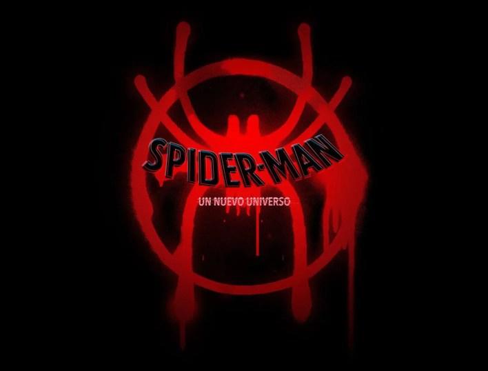 Película de Animación 3D Spiderman logotipo